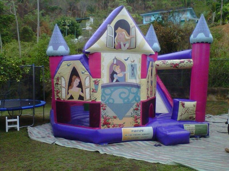 princess-bouncy-castle
